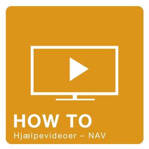 NAV video - Se hjælpevideoer til NAV
