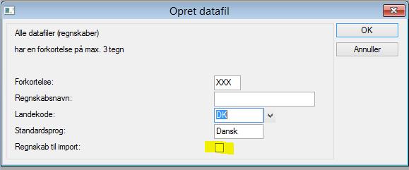 Nyt regnskabsår_opret datafil_ERPsupporten.dk
