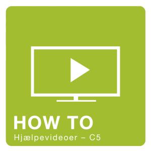 C5 video - Se hjælpevideoer til C5