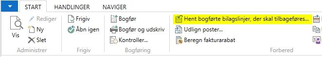 KrediteringSalgsfaktura_HentBilagslinjer C5/NAV