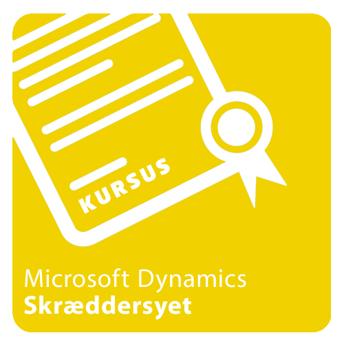 Kursus skræddersyet i Microsoft Dynamics