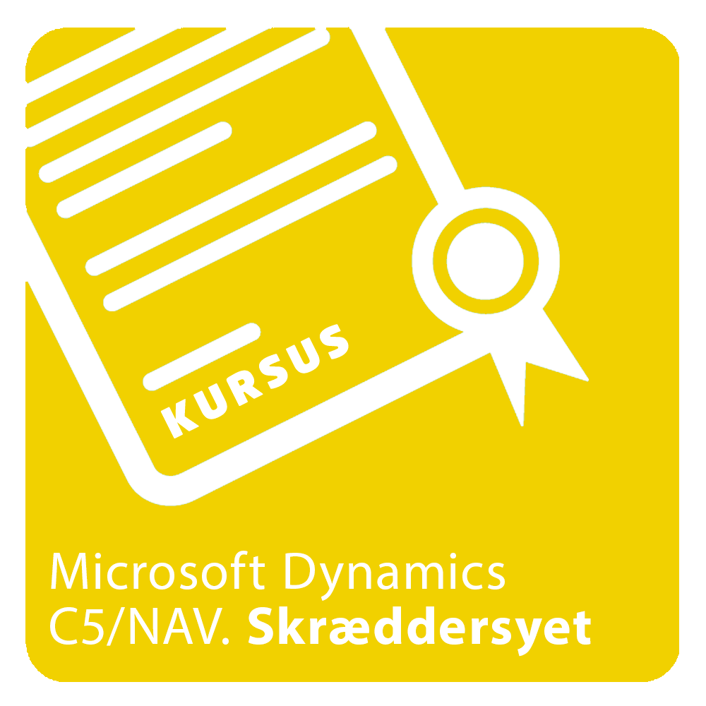 Kursus skræddersyet til Microsoft Dynamics NAV eller C5