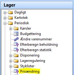 Prisjustering C5 2012_Lager