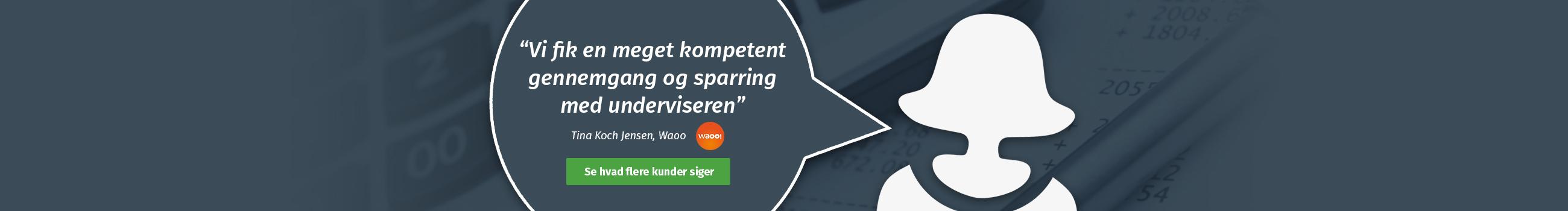 Waoo om kursus hos ERPsuporten.dk