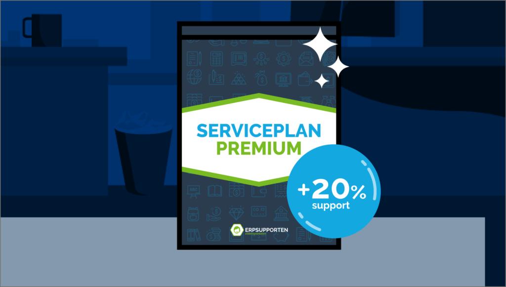 Mange fordele med Serviceplan Premium