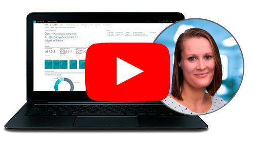 Se video: Webinar om Introduktion til Dynamics 365 Business Central