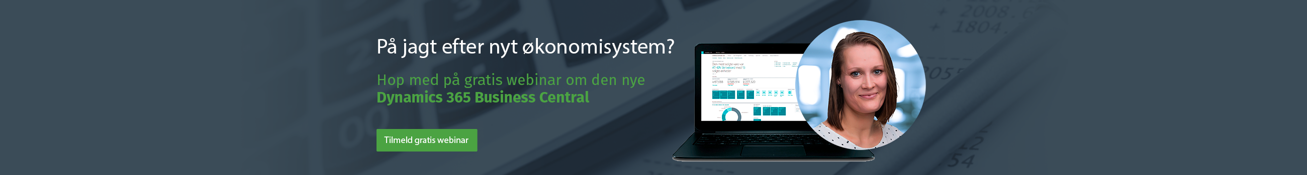 Gratis webinar om Dynamics 365 Business Central