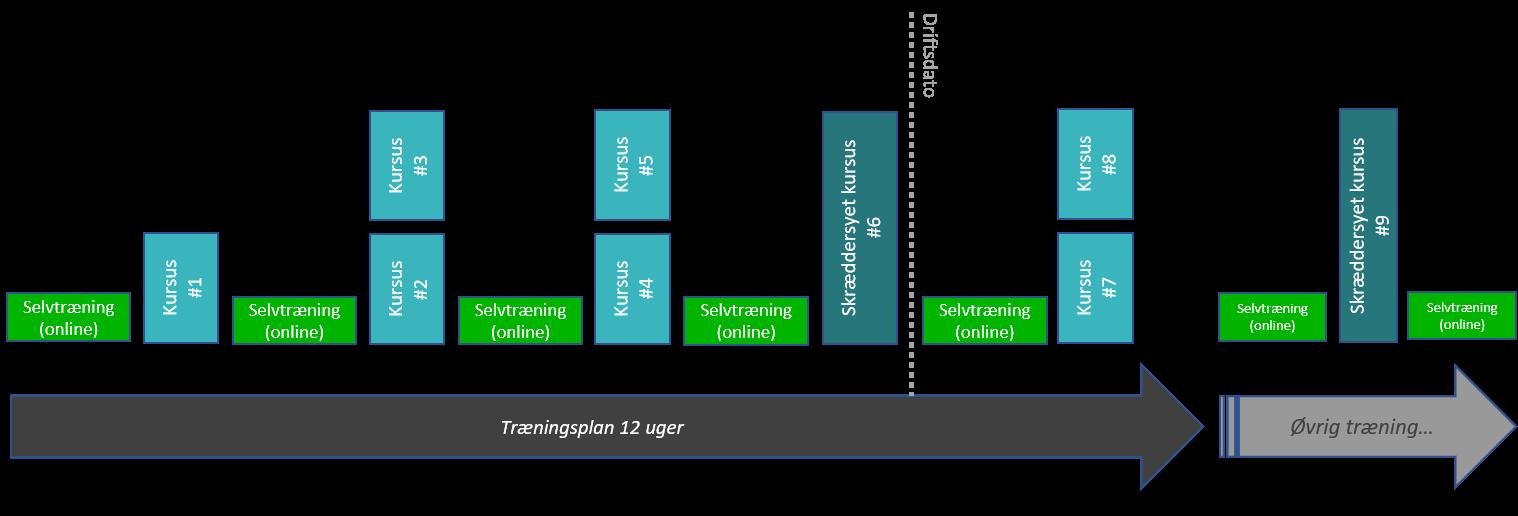 Kursusforløb med modulkurser i Dynamics 365 Business Central og Træningsplan - ERPsupporten