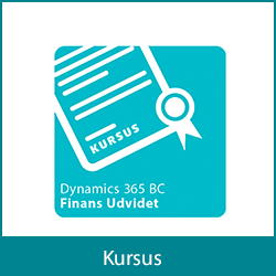 Kursus - Dynamics 365 Business Central Finans Udvidet