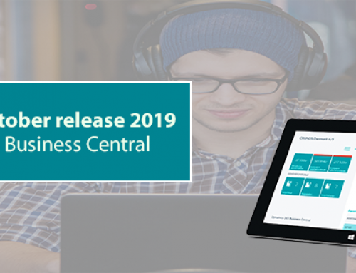 What's new i Dynamics 365 Business Central – oktober release 2019?