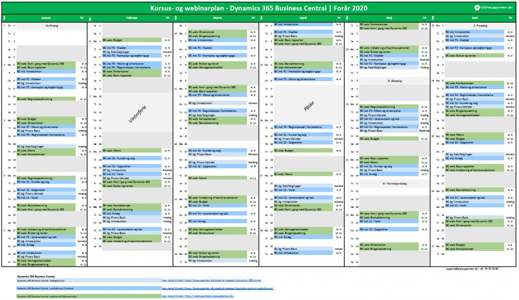Download kalender for foråret 2020