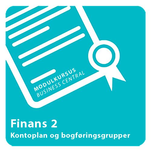 Modulkursus - Finans 2 Dynamics 365 Business Central