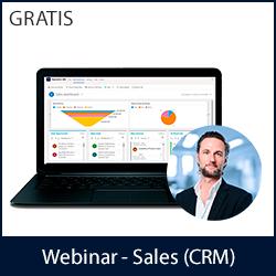 Webinar - Dynamics 365 Sales